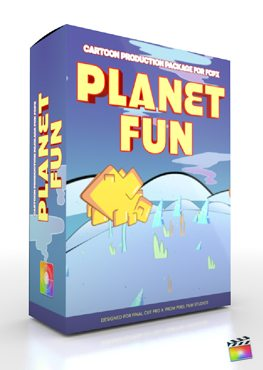 Final Cut Pro X Plugin Production Package Planet Fun from Pixel Film Studios