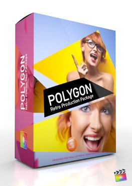 Final Cut Pro X Plugin Production Package Theme Polygon from Pixel Film Studios