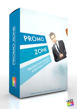 Final Cut Pro X Plugin Production Package Promo Zone from Pixel Film Studios