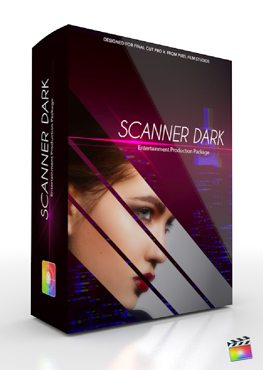 Final Cut Pro X Plugin Production Package Scanner Dark from Pixel Film Studios
