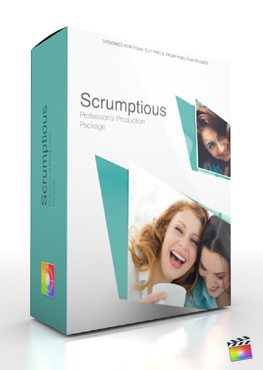 Final Cut Pro X Plugin Production Package Scrumptious from Pixel Film Studios