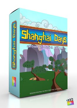 Final Cut Pro X Plugin Production Package Shanghai Days from Pixel Film Studios
