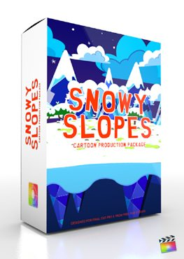 Final Cut Pro X Plugin Production Package Snowy Slopes from Pixel Film Studios