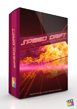 Final Cut Pro X Plugin Production Package Speed Drift from Pixel Film Studios