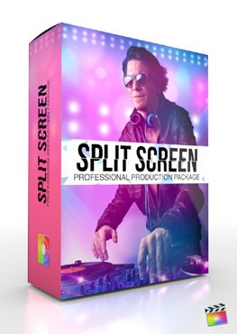 Final Cut Pro X Plugin Production Package Split Screen from Pixel Film Studios