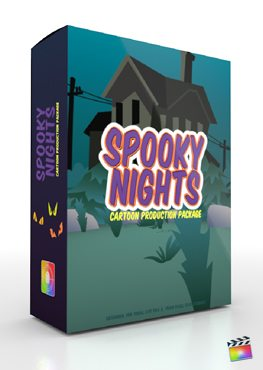 Final Cut Pro X Plugin Production Package Spooky Nights from Pixel Film Studios