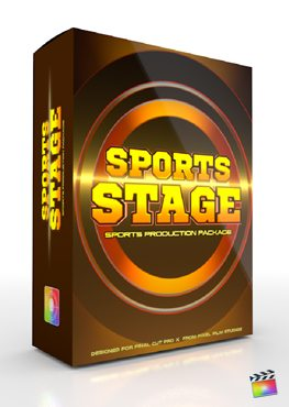 Final Cut Pro X Plugin Production Package Panel Sports Stage from Pixel Film Studios