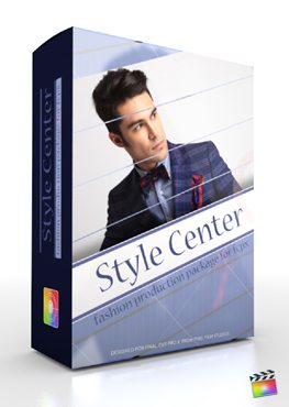 Final Cut Pro X Plugin Production Package Style Center from Pixel Film Studios