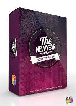 Final Cut Pro X Plugin Production Package Theme The New Year from Pixel Film Studios