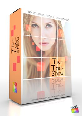 Final Cut Pro X Plugin Production Package Tic Tac Show from Pixel Film Studios
