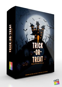 Final Cut Pro X Plugin Production Package Theme Trick or Treat from Pixel Film Studios
