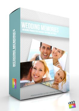 Final Cut Pro X Plugin Production Package Theme Wedding Memories from Pixel Film Studios