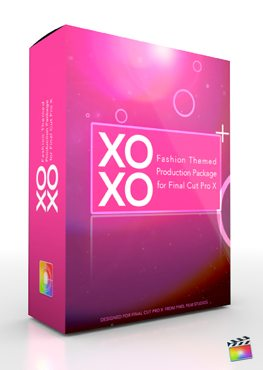 Final Cut Pro X Plugin Production Package XOXO from Pixel Film Studios