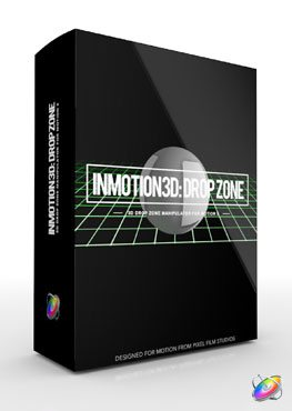 Apple Motion 5 Plugin InMotion 3D Drop Zone from Pixel Film Studios
