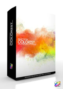 Apple Motion 5 Plugin InMotion Colorist from Pixel Film Studios