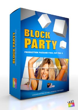 Final Cut Pro X Plugin Production Package Block Party from Pixel Film Studios