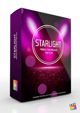 Final Cut Pro X Plugin Production Package Starlight from Pixel Film Studios