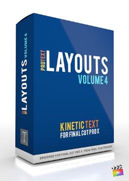 Final Cut Pro X Plugin ProText Layouts Volume 4 from Pixel Film Studios