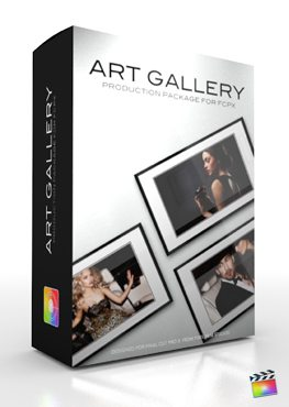 Final Cut Pro X Plugin Production Package Art Gallery from Pixel Film Studios