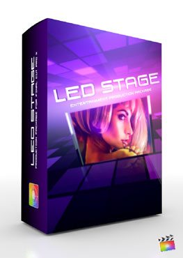 Final Cut Pro X Plugin Production Package Led Stage from Pixel Film Studios
