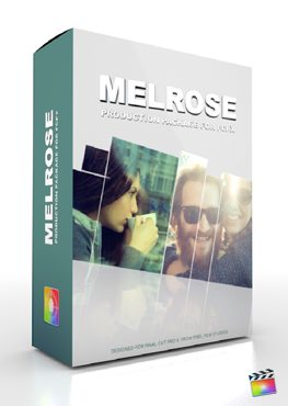 Final Cut Pro X Plugin Production Package Melrose from Pixel Film Studios