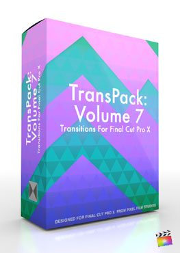 Final Cut Pro X Plugin TransPack Volume 7 from Pixel Film Studios