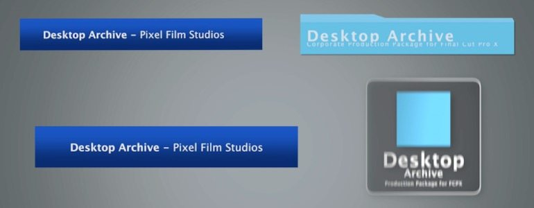 Professional - Corporate Themes for Final Cut Pro X