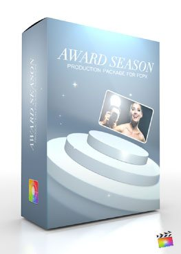 Final Cut Pro X Plugin Production Package Desktop Award Season from Pixel Film Studios
