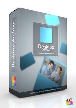 Final Cut Pro X Plugin Production Package Desktop Archive from Pixel Film Studios
