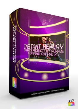Final Cut Pro X Plugin Production Package Instant Replay from Pixel Film Studios