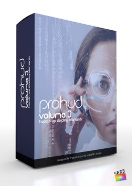 Final Cut Pro X Plugin ProHUD Volume 3 from Pixel Film Studios