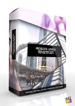 Final Cut Pro X Plugin ProSlice Levels from Pixel Film Studios