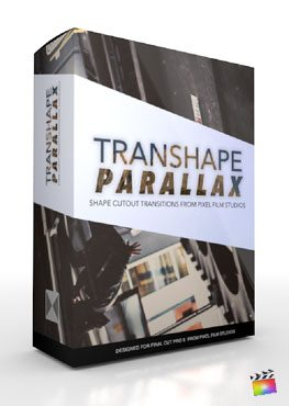 Final Cut Pro X Plugin TranShape Parallax from Pixel Film Studios