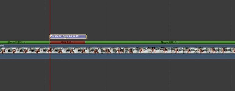 Final Cut Pro X Plugin ProFreeze Photo from Pixel Film Studios