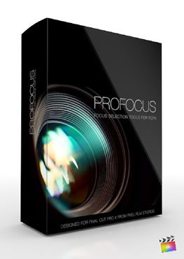 Final Cut Pro X Plugin ProFocus from Pixel Film Studios