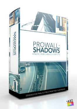 Final Cut Pro X Plugin ProWall Shadows from Pixel Film Studios