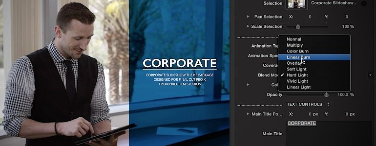 Professional - Professional Slideshow Themes for Final Cut Pro X