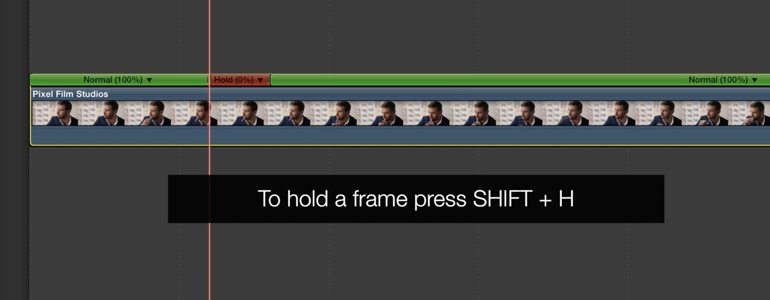 Freeze Frame Effects for FCPX