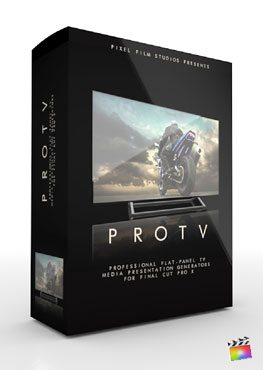 Final Cut Pro X Plugin ProTV from Pixel Film Studios