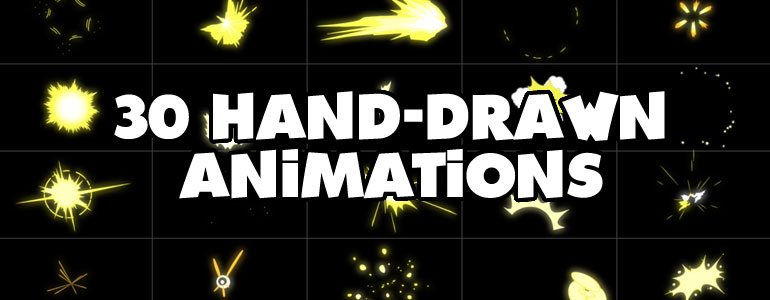 Hand Drawn Animations for FCPX