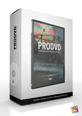 Final Cut Pro X Plugin ProDvd from Pixel Film Studios