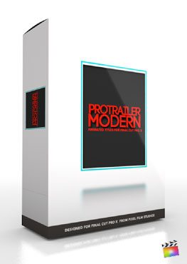 Final Cut Pro X Plugin ProTrailer Modern from Pixel Film Studios