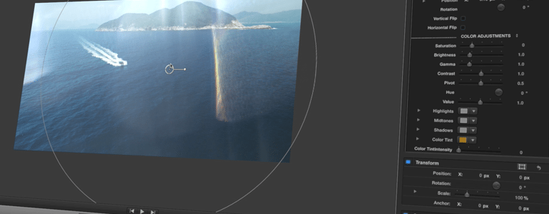 Final Cut Pro X Plugin ProFlare 5K Glimmer