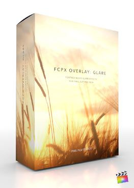 Final Cut Pro X Plugin FCPX Overlay Glare from Pixel Film Studios