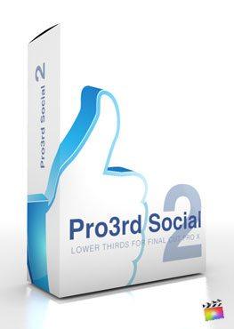 Final Cut Pro X Plugin Pro3rd Social Volume 2 from Pixel Film Studios