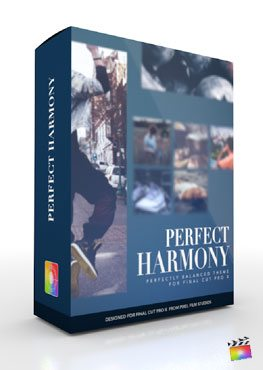 Final Cut Pro X Plugin Production Package Perfect Harmony from Pixel Film Studios
