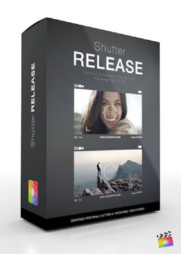 Final Cut Pro X Plugin Production Package Shutter Release from Pixel Film Studios