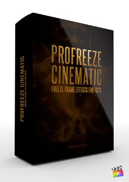 Final Cut Pro X Plugin ProFreeze Cinematic from Pixel Film Studios