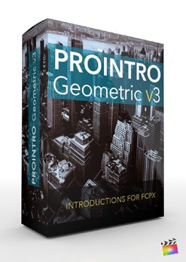 Final Cut Pro X Plugin ProIntro Geometric Volume 3 from Pixel Film Studios