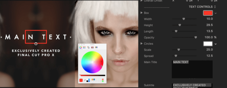 Final Cut Pro X Plugin ProSideBar: Fashion Volume 2